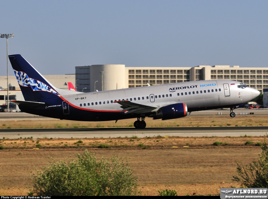 VP BKT Aeroflot Nord Boeing 737 300 PlanespottersNet 157586
